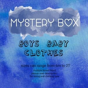 Other - Mystery Box -16 items - boys pants and shorts